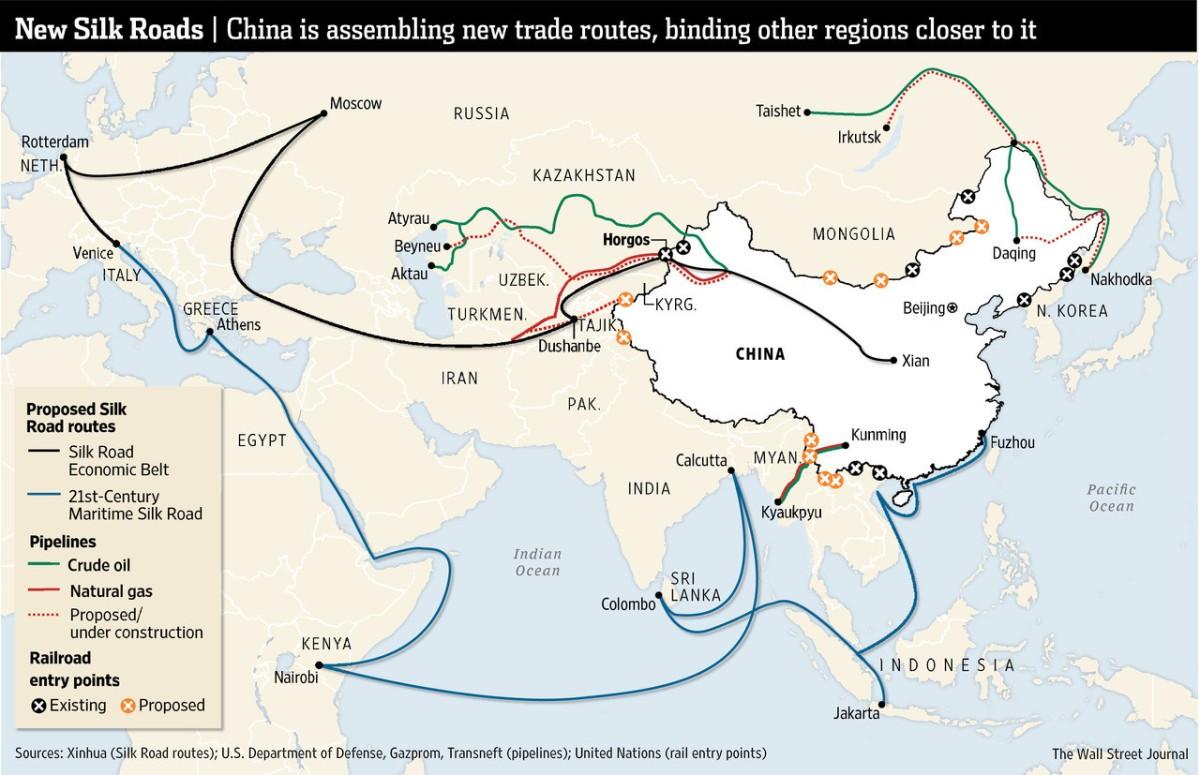 Escalada militar y expansión del yihadismo contra Rusia y China